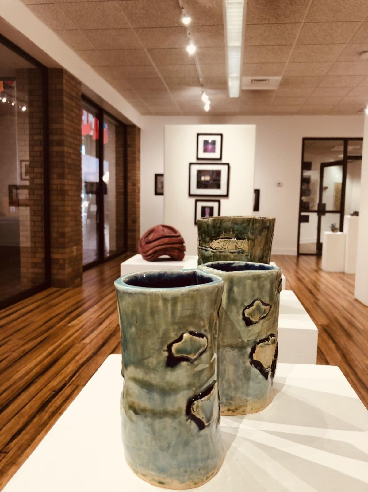 """Ceramics by Armir Goodwin on view in """"Final Draft"""" at Lander University"""