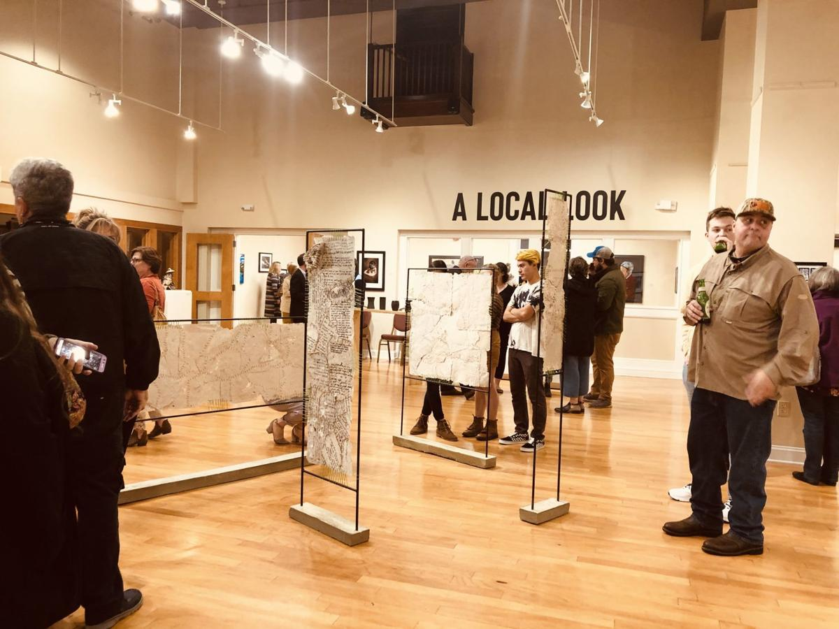 "Opening reception for ""A Local Look"" at Arts Center of Greenwood"