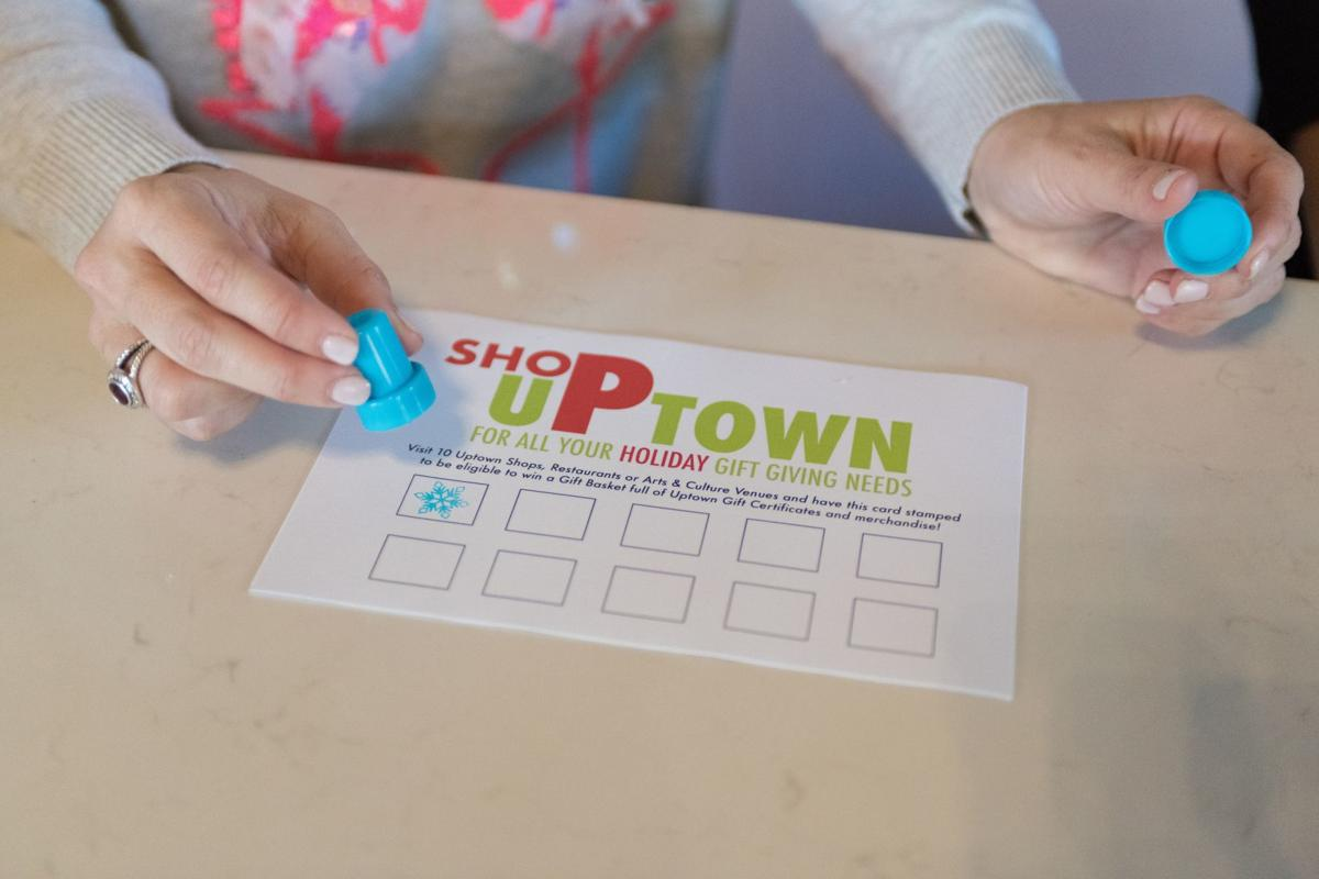 Get your Uptown Holiday Shopping Pass stamped Nov. 23 during Holiday Open House