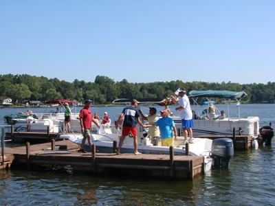 Cruisin for a Cause Boat Run on Lake Greenwood