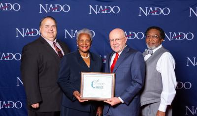 USCG receives National Association of Development Organizations Impact Award