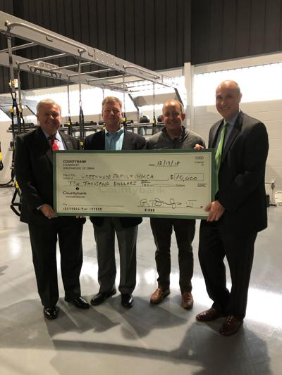 Countybank Foundation supports Greenwood YMCA