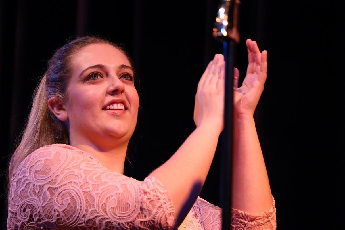 Lauren Strickland as Cindy Lou in 'The Marvelous Wonderettes' at GCT