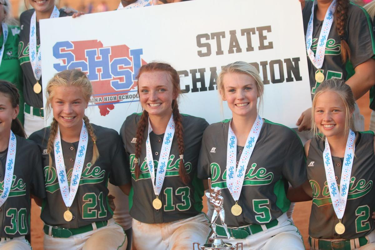 PHOTOS: Dixie wins Class 1A softball state championship