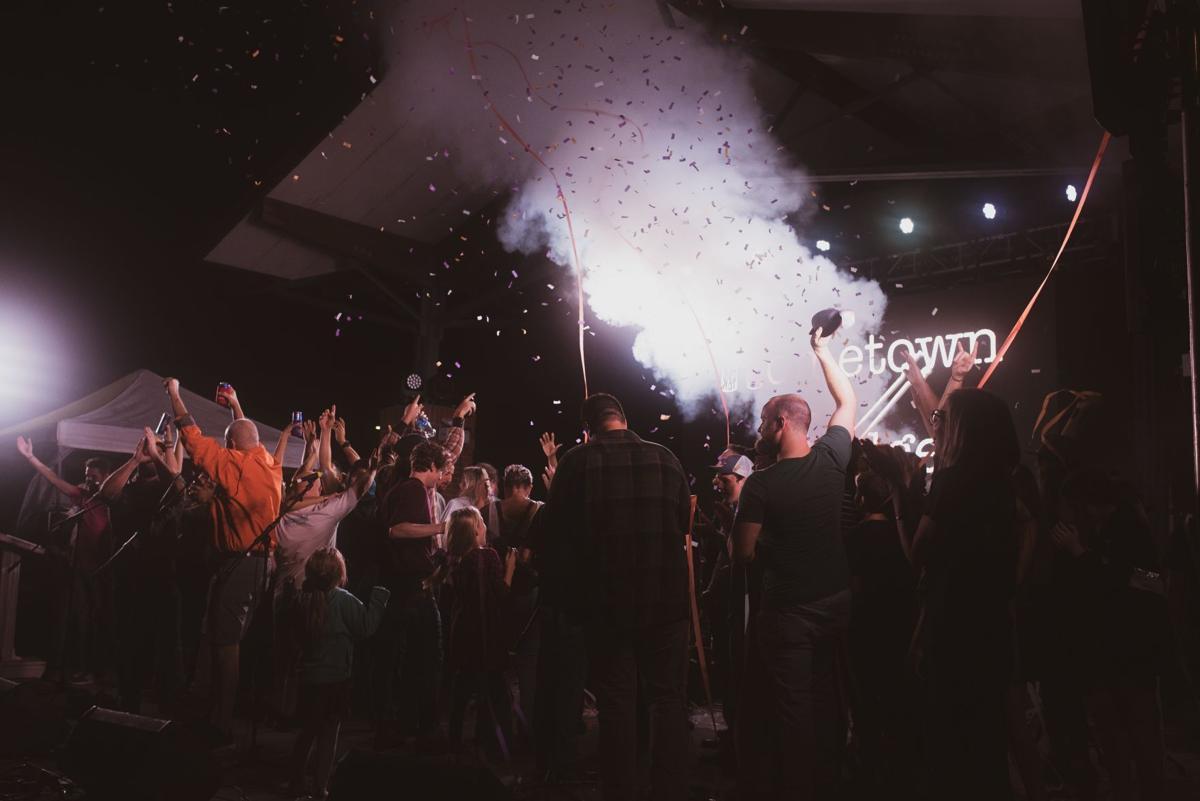 Greenwood's Groovin' concert in October 2020 at Lander University's Jeff May Complex