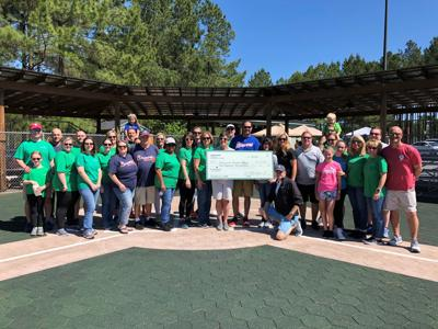 Countybank and Greenwood Capital donate to Miracle League