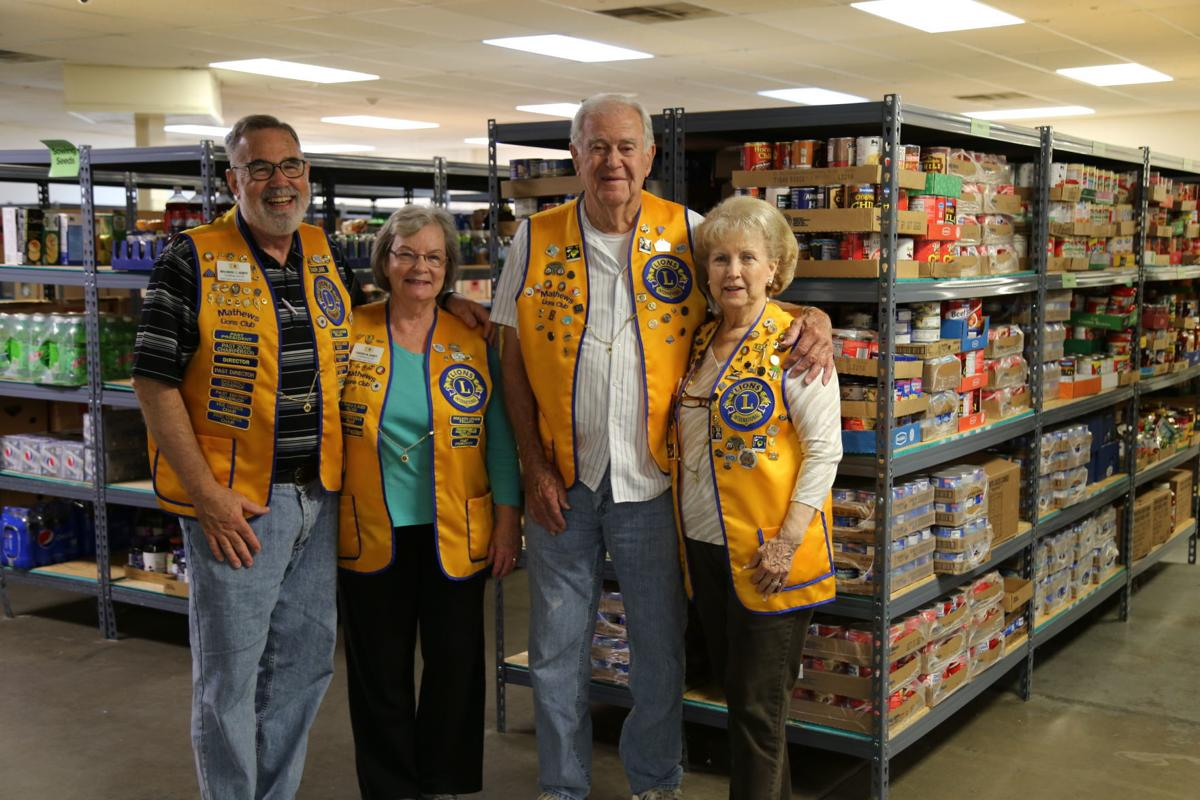 Mathews Lions Club Continues to Serve