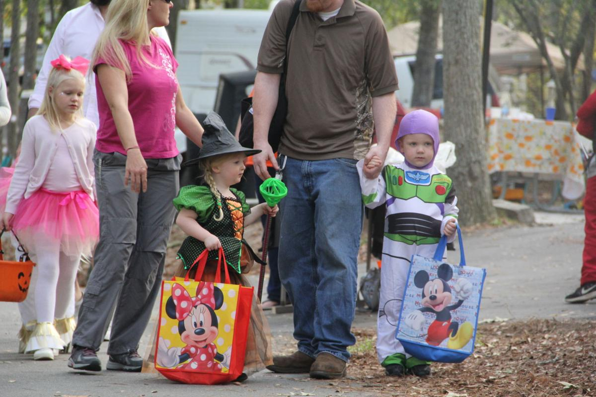 Camping Costumes And Candy At Greenwoods Haunted Shores