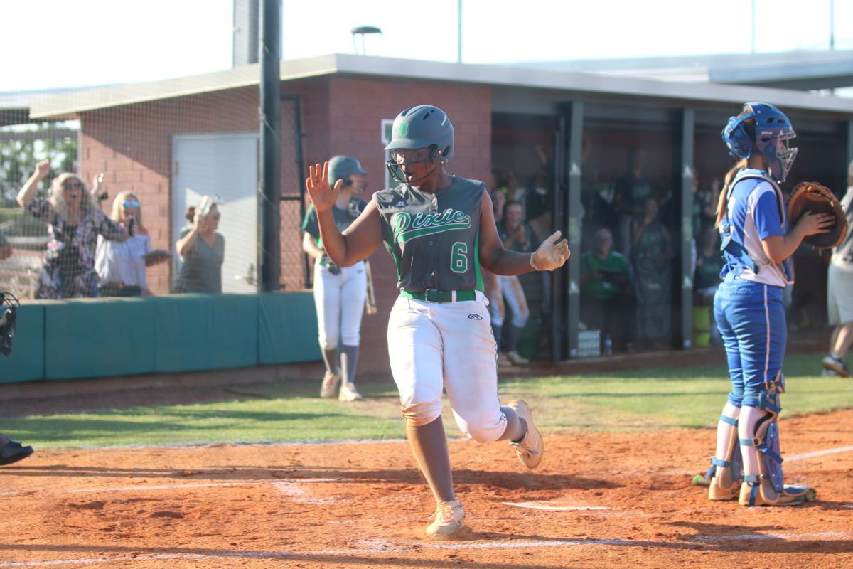 Dixie softball holds on behind grand slam to win state championship