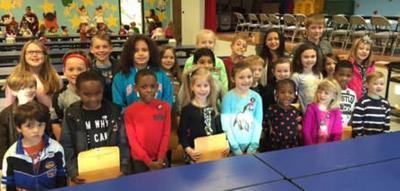 Lakeview Elementary Terrific Kids for November