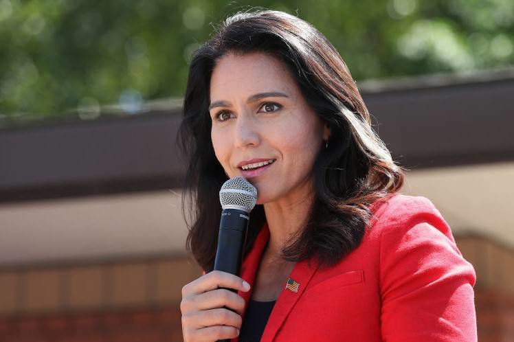 Presidential candidate Tulsi Gabbard sues Hillary Clinton for $50 million for defaming her