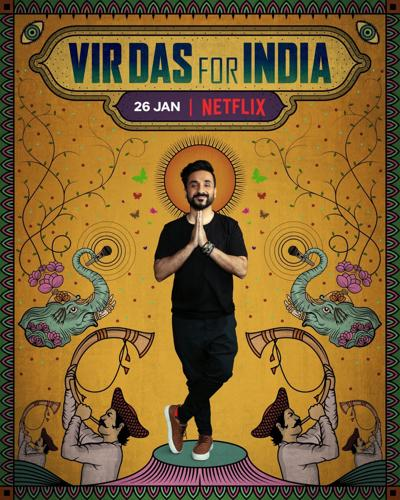 Vir Das announces new Netflix stand-up special