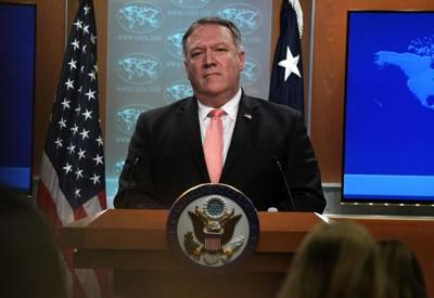Pompeo says U.S. open to dialogue with India after trade snub