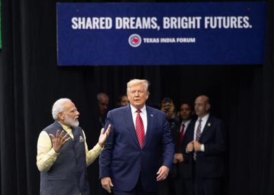 Did Trump win over Modi bhakts? Quite unlikely, political observers say