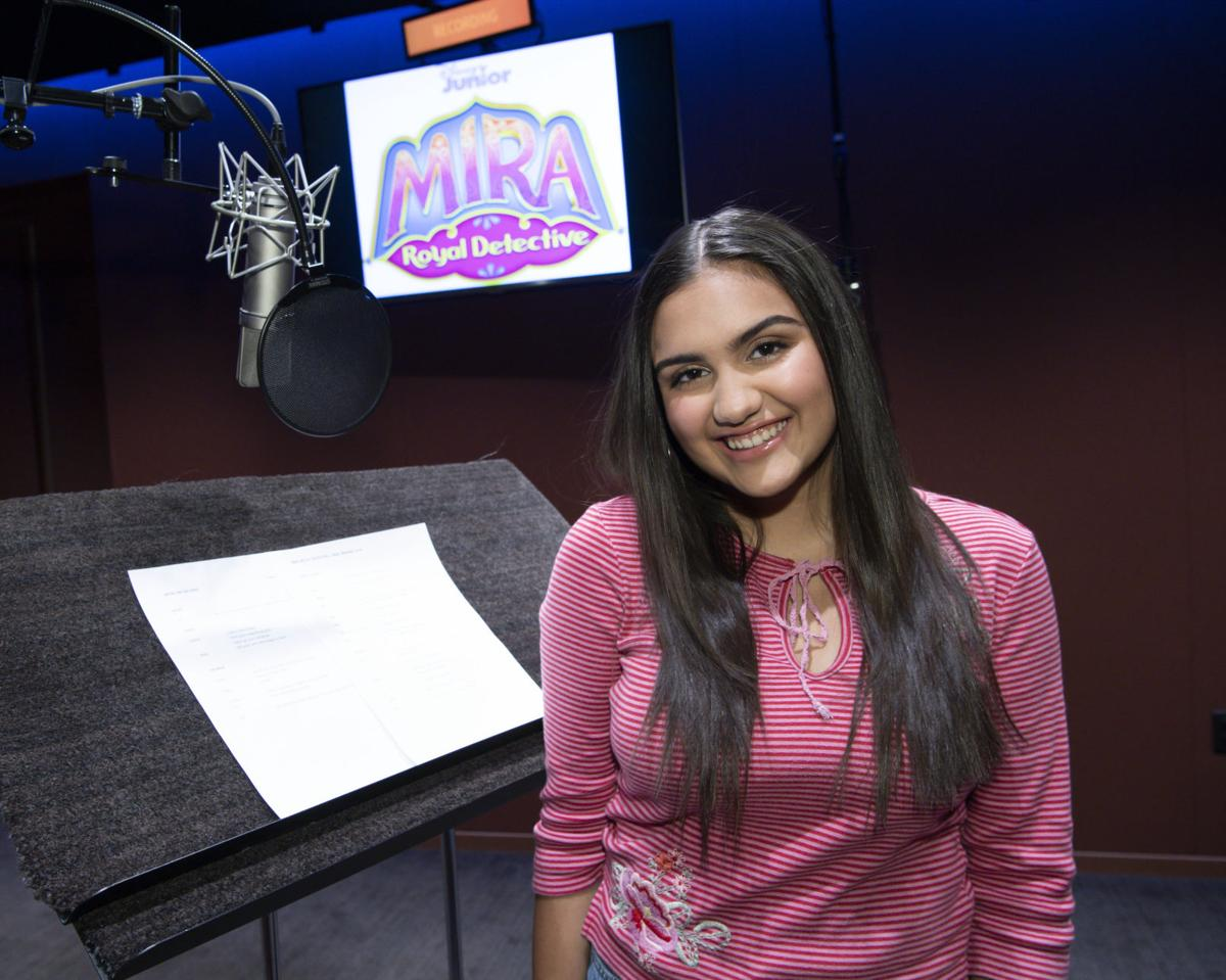 Leila Ladnier is voice behind Disney Junior's first-ever South Asian royal detective