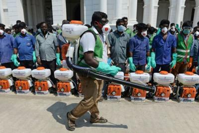 Millions ordered into lockdown in India over virus fears