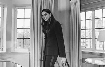 Deepika Padukone attends Youth Anxiety Center in New York