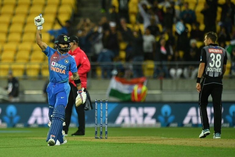 India snatch another super over T20 victory against New Zealand