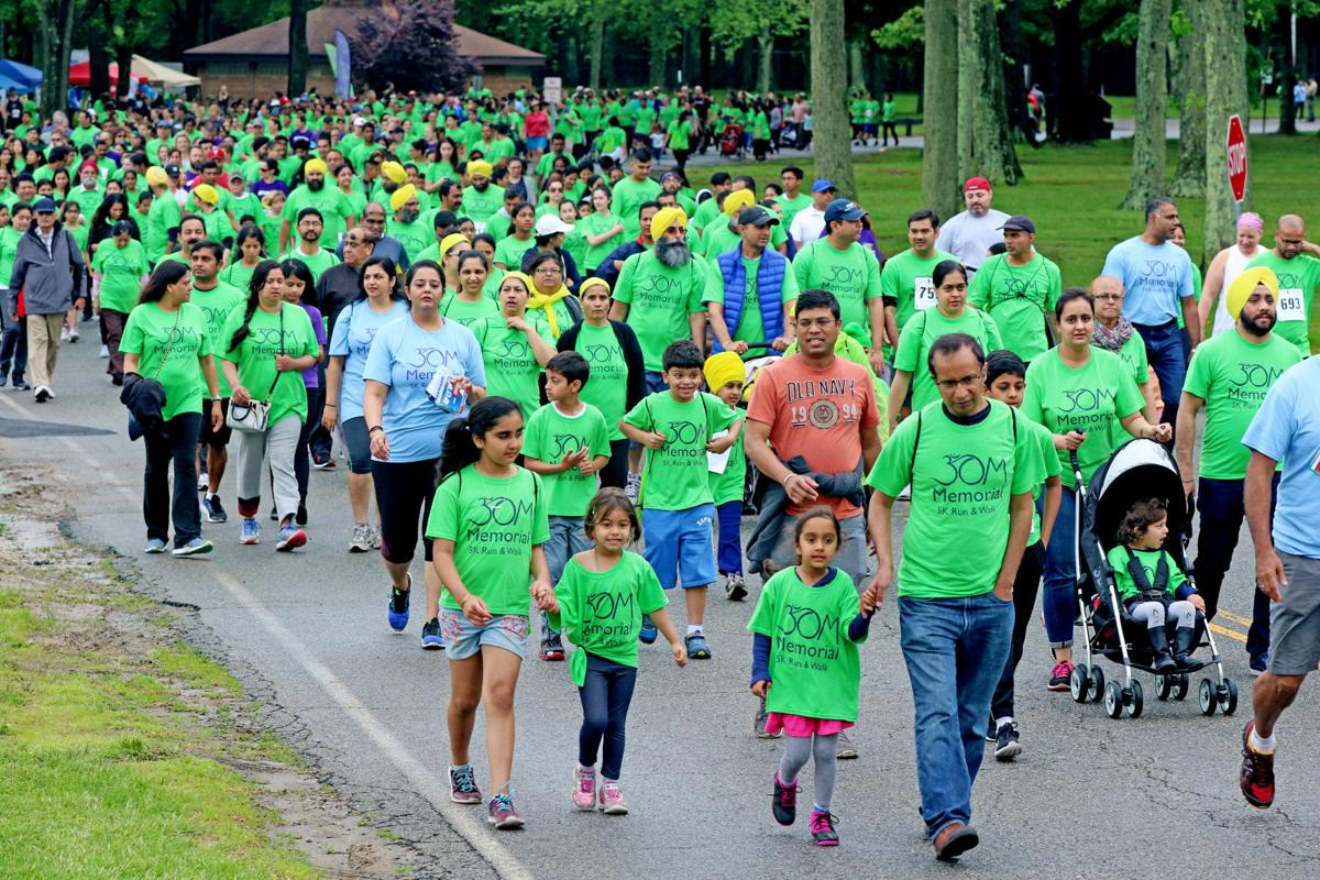 Over 1,500 join walk-run event in N.J. in memory of childhood cancer victim
