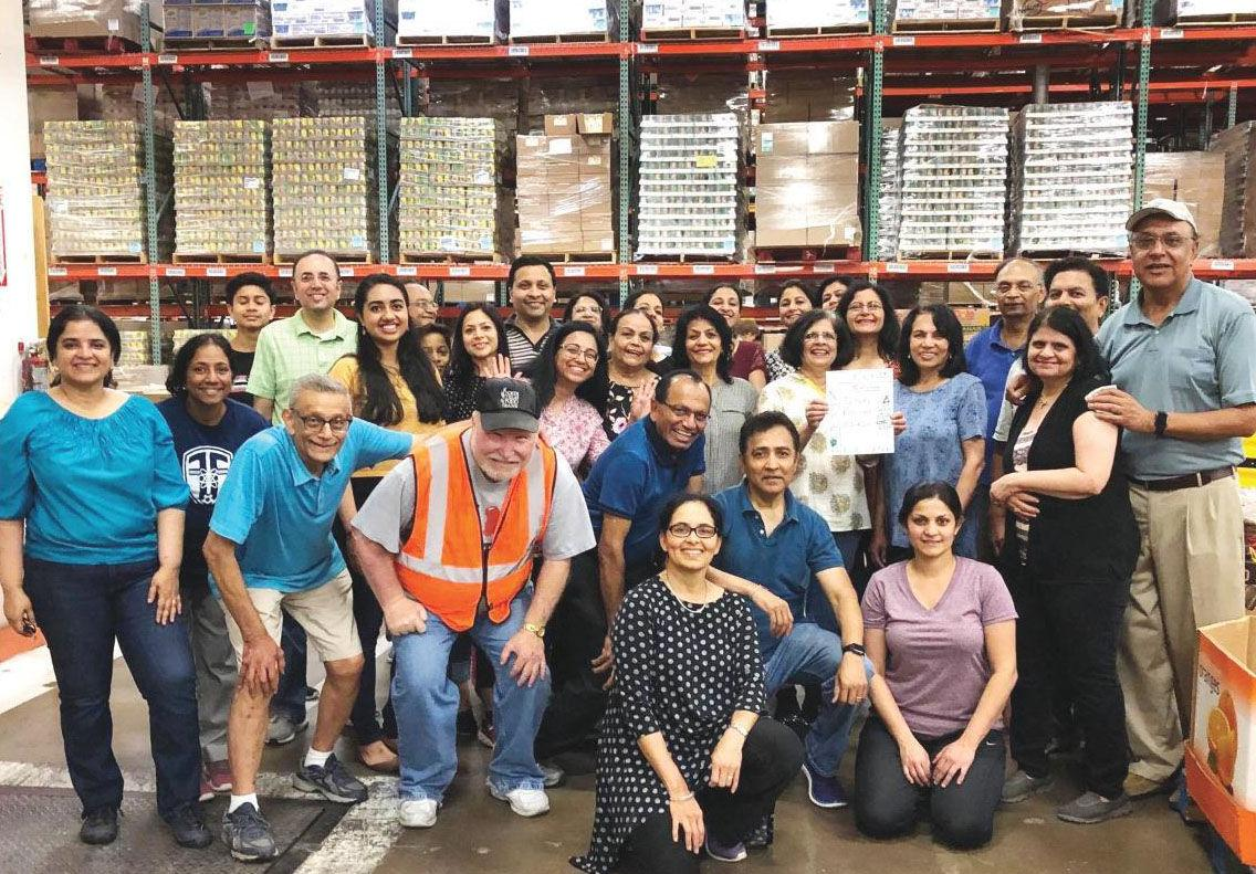 North Texas Food Bank's Indian American Council Completes Target of Million Meal March