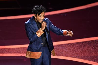 Indian American Utkarsh Ambudkar in the limelight after his freestyle rap at Oscars