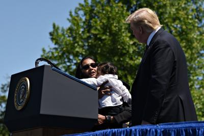 Trump hosts family of slain police officer Ronil Singh at the White House
