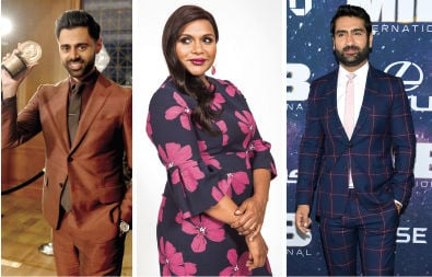 Most Powerful People in Comedy: Mindy Kaling, Hasan Minhaj and Kumail Nanjiani