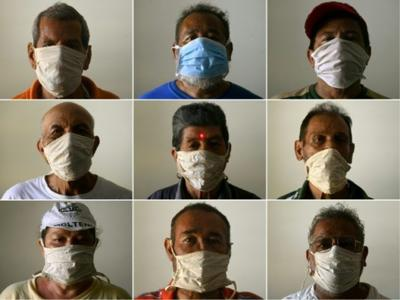 Mask slips: U-turn as leaders tell public to cover their faces