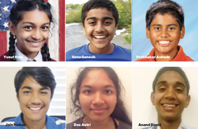 6 Indian-Americans among 30 finalists in STEM competition