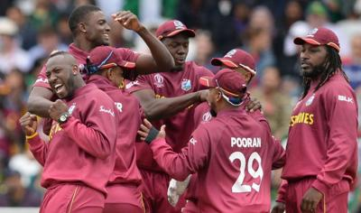 Thomas, Gayle lead West Indies World Cup rout of Pakistan