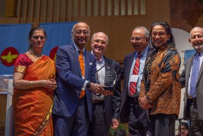 Dr. Siva Subramaniam becomes the first Hindu-American recognized by Interfaith Council