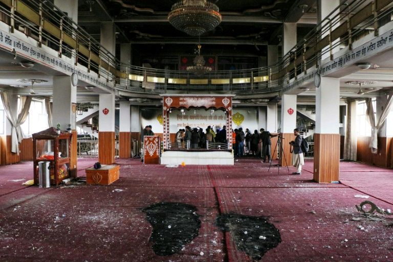 At least 25 dead in attack on Afghan Sikh-Hindu temple