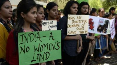 Indian women's heads shaved for 'resisting' rape