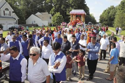 Thousands attend inauguration of Swaminarayan Gadi Hindu temple in Virginia