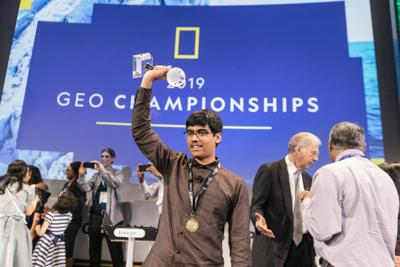 Texas Teen wins top honors at National Geographic GeoBee