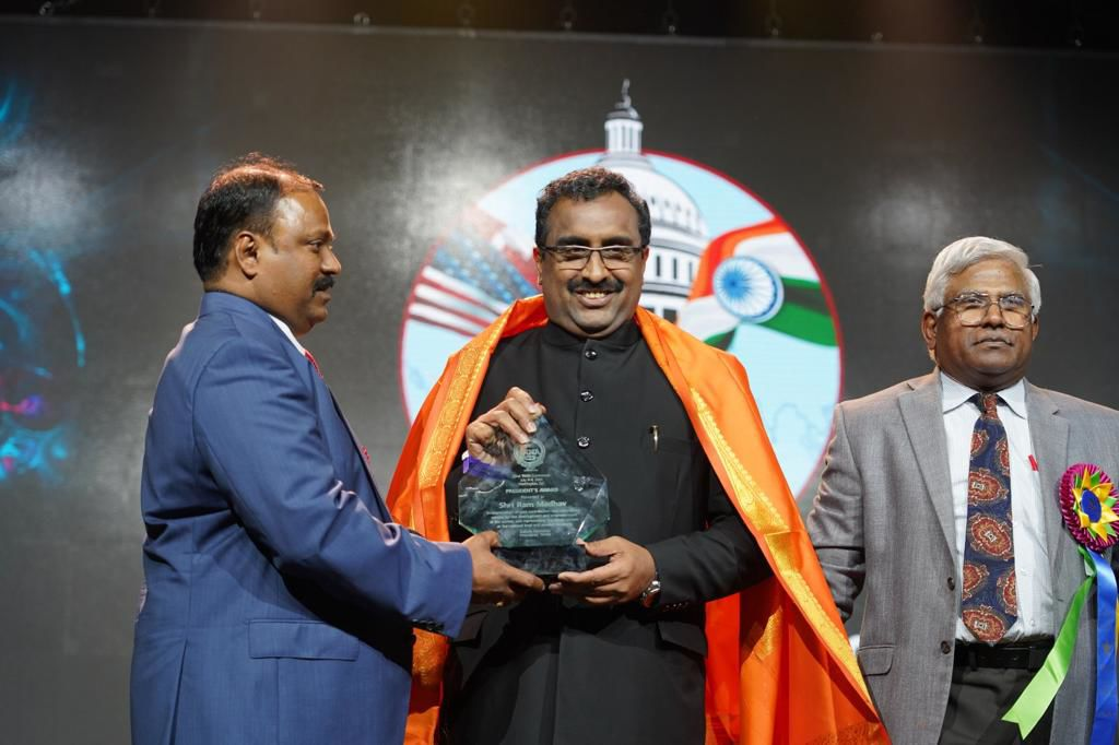 BJP National Secretary Ram Madhav headlines TANA conference in D.C.