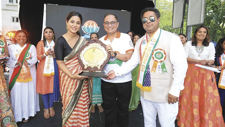 Bollywood stars, NBA athletes attend annual India Day Parade In Manhattan