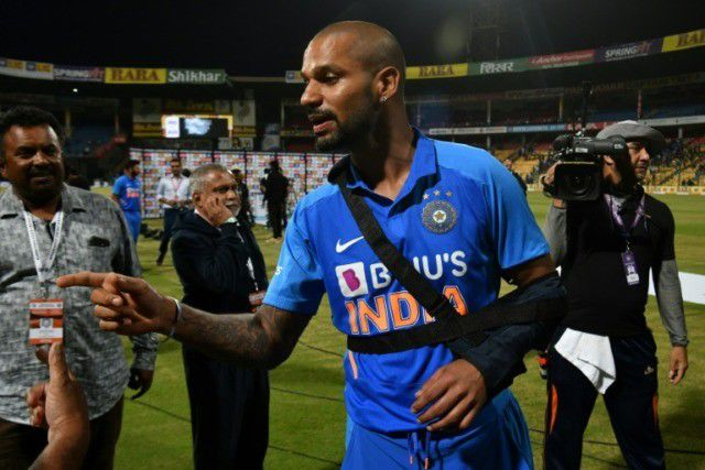 Injured Dhawan out of India's ODI, T20 squad for New Zealand tour