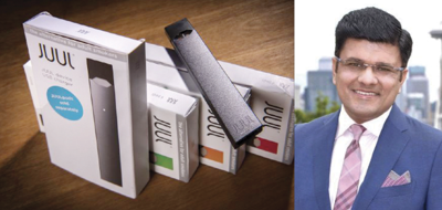 Former Juul exec Siddharth Breja alleges company sold contaminated pods