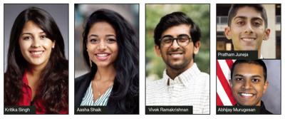 Five Indian-Americans are among 62 Truman Scholars
