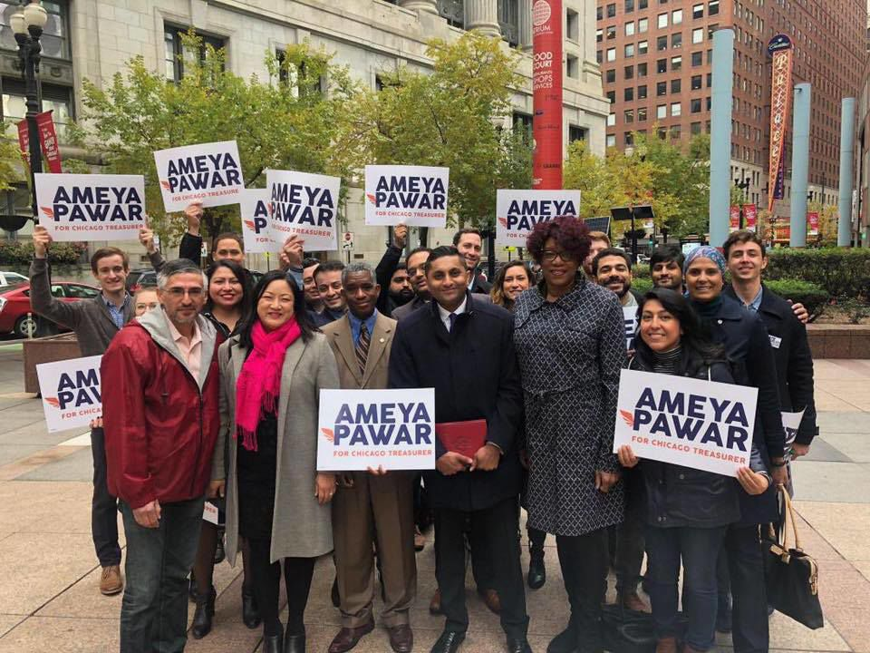 Chicago Alderman Ameya Pawar announces run for treasurer  fd44825dd