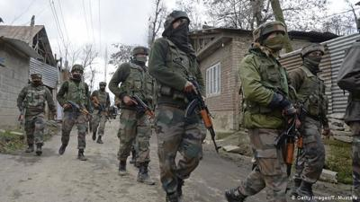 Three soldiers, one militant killed in Kashmir shootout
