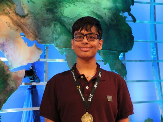 Karan Menon, Samvrit Rao win top honors at International Geography Bee