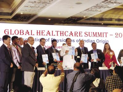 At Global Healthcare Summit, Indian-American physicians urged to give back to motherland