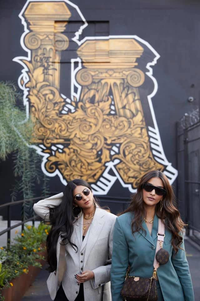 Sonam Kapoor and sister Rhea Kapoor team up with Los Angles Tourism for new ad campaign