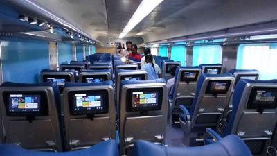 All aboard India's new luxury affordable train