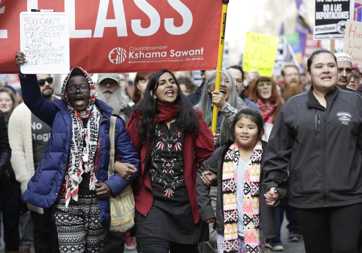 The girl with the socialist tattoo: Kshama Sawant's personal revolution