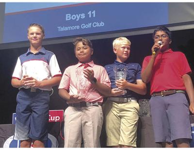 Sahish Reddy of Georgia wins 1st place In Boys 11 Division Golf Tournament