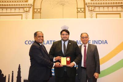 Indian consulate in New York honors Ohio State Rep. Niraj Antani on occasion of Pravasi Bharatiya Divas