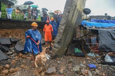 13 bodies recovered after monsoon dam breach in Mumbai